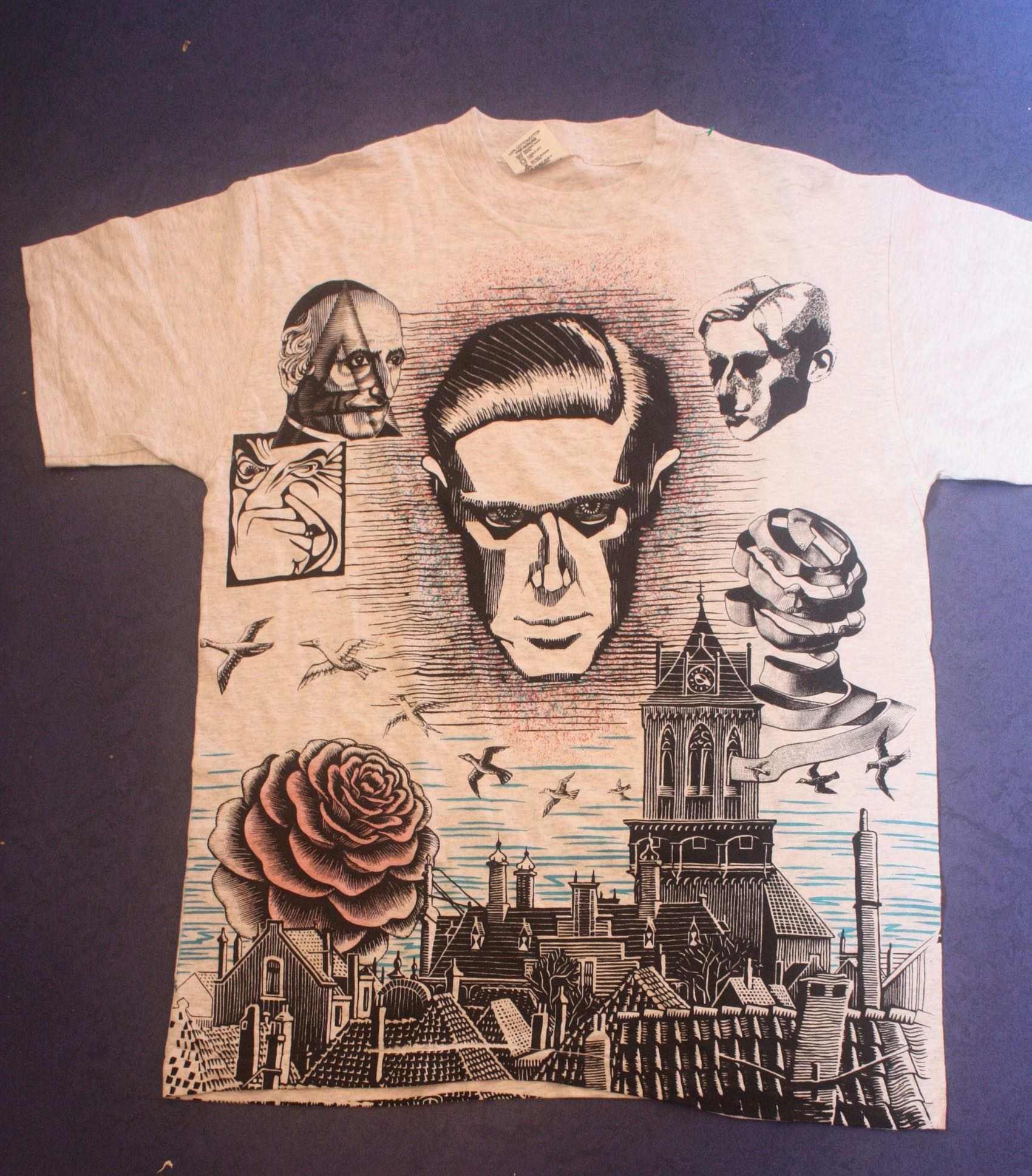 M.C. Escher Self-Portrait Andazia Tee 1