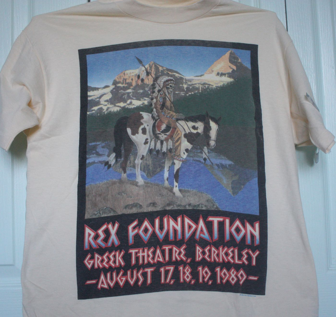 Rex Foundation Benefit Dead Concert Tee