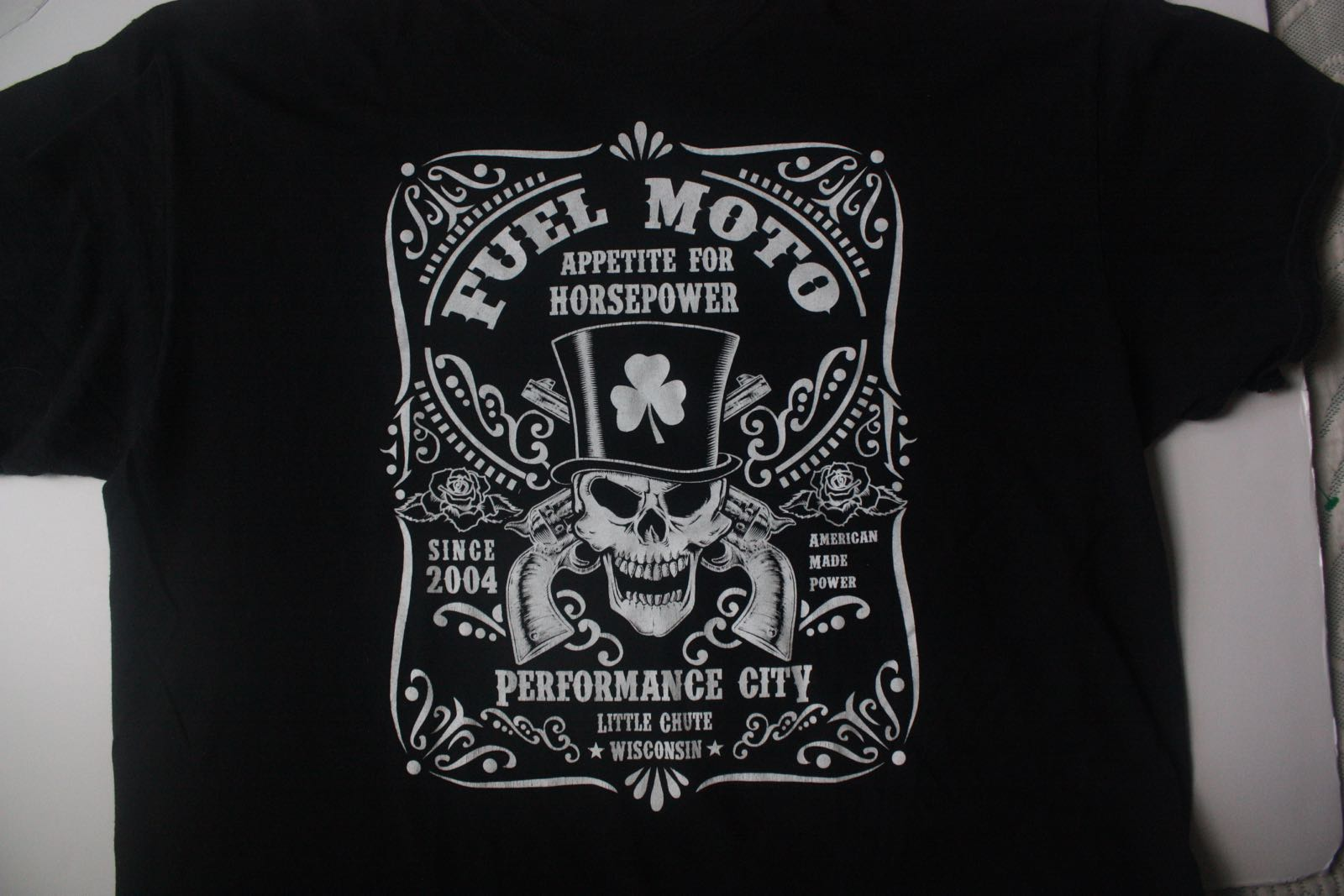 Fuel Moto Harley Davidson Parts Dealer Tee