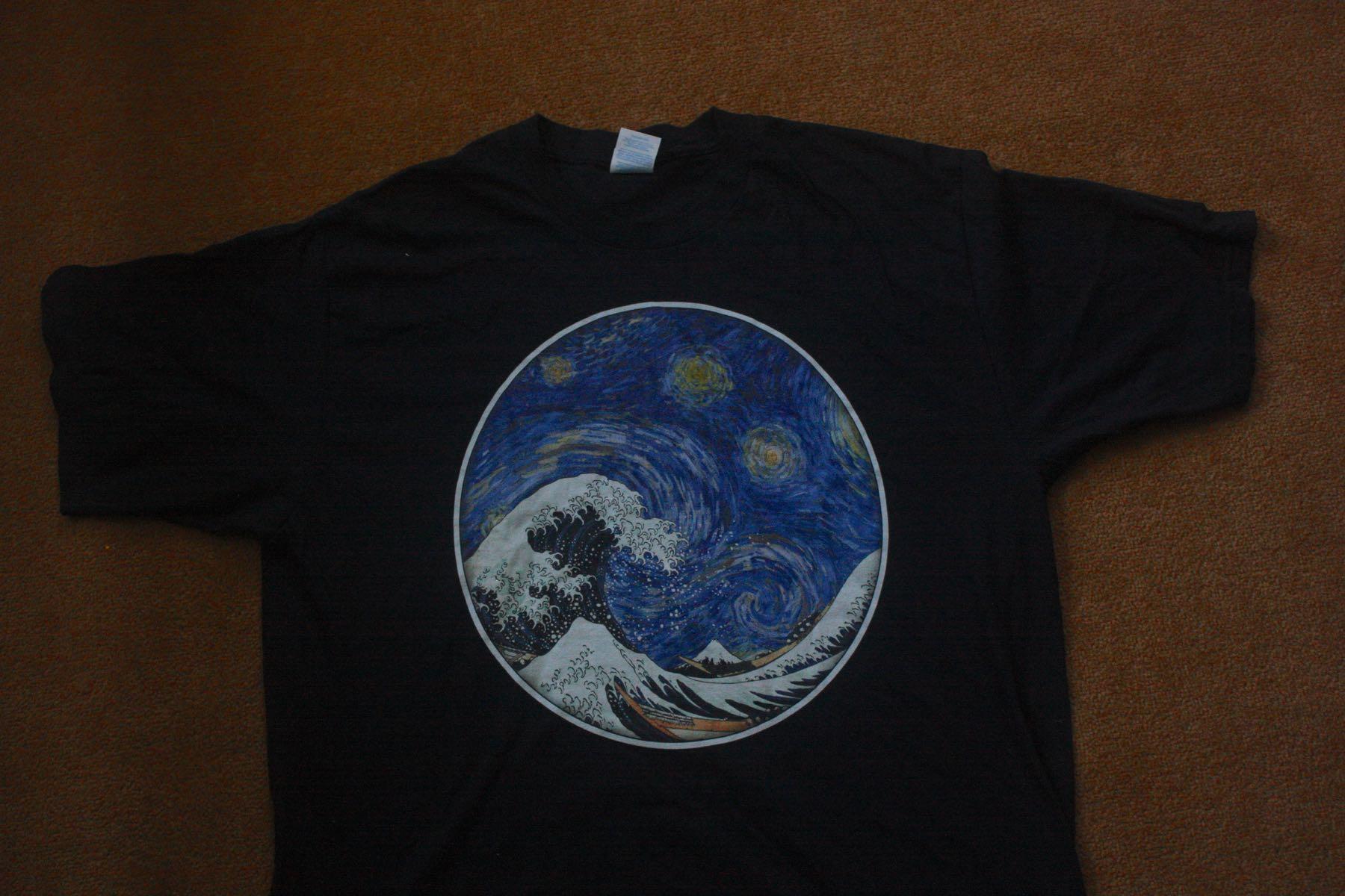 Hokusai Wave Van Gogh