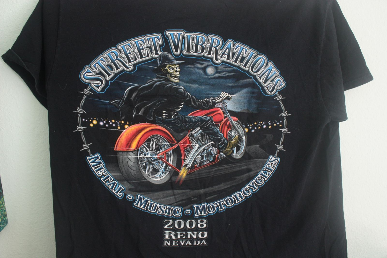 Reno Street Vibrations Motorcycle Fest Tee 2