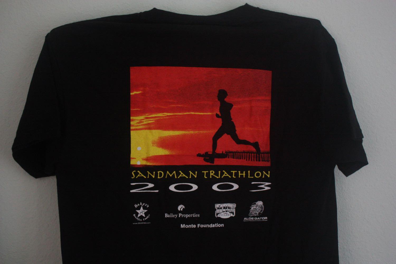 Sandman Triathlong Santa Cruz 2003 Tee