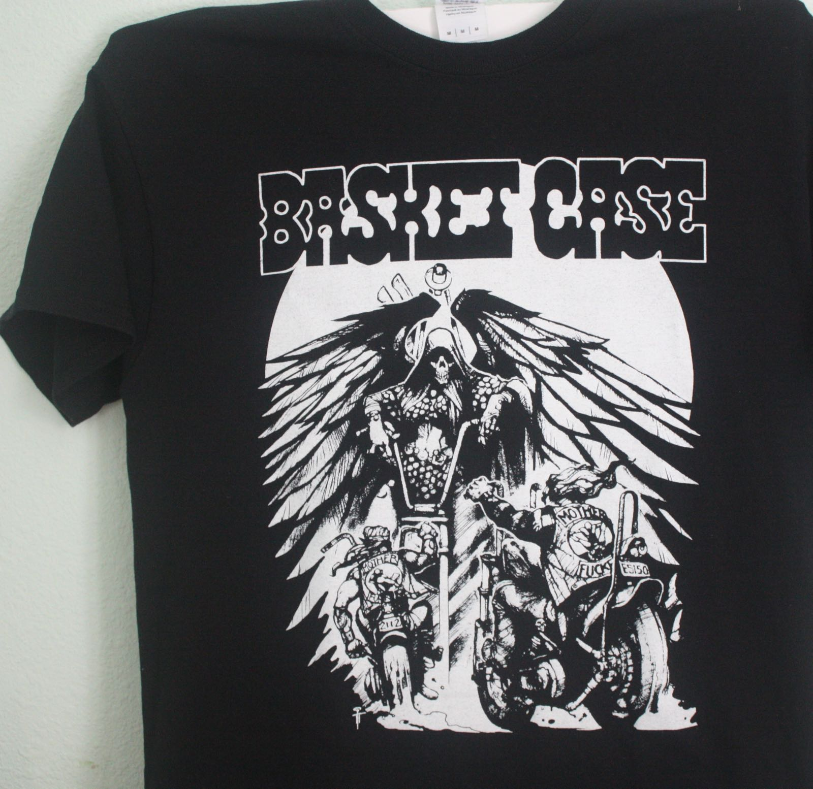 Santa Cruz Basket Case Chopper Zine Tee