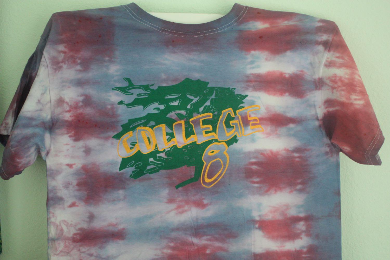UCSC College 8 Tie Dye Tee