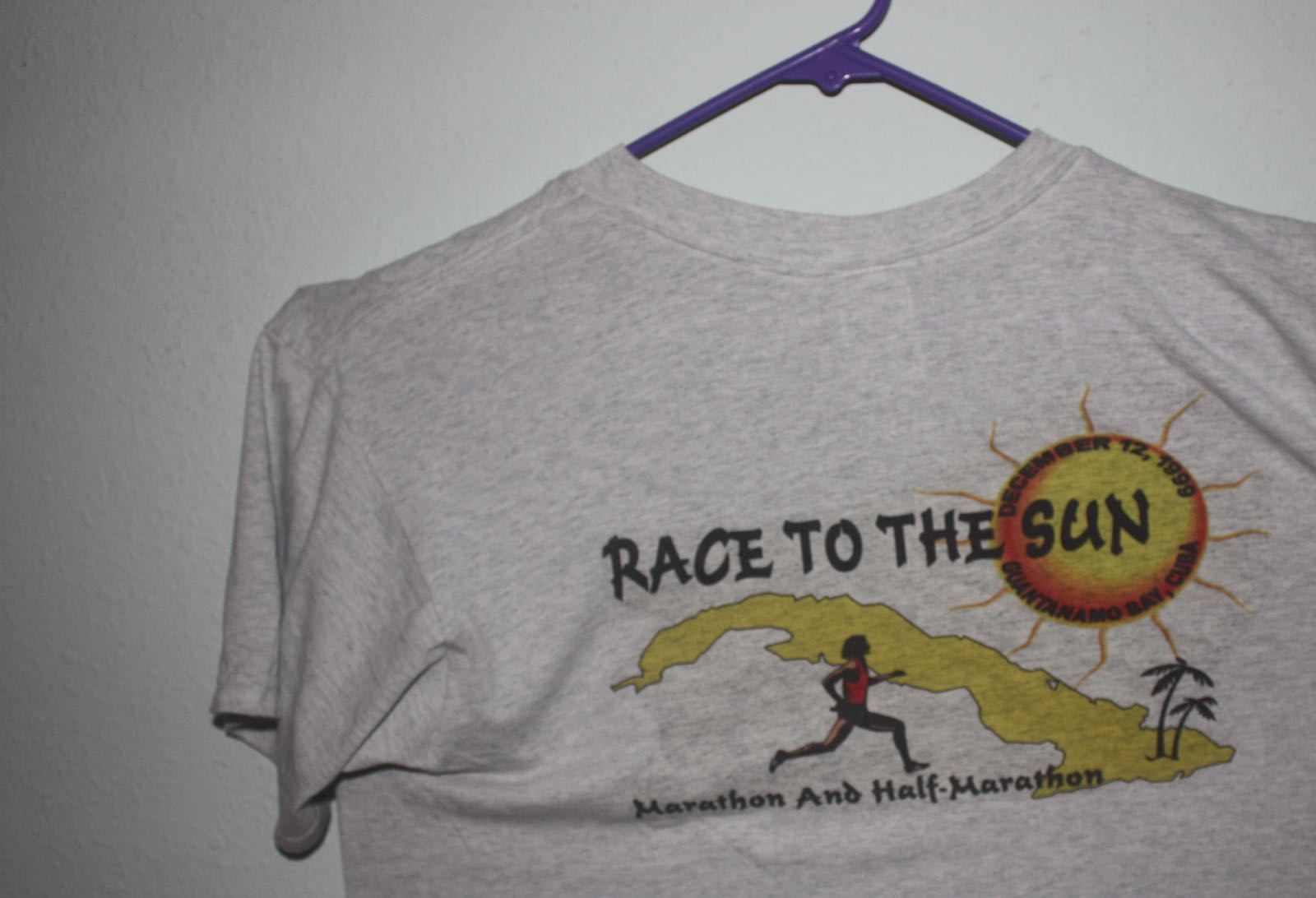 Guantanomo  Hospital Pre-911 Fun Run Tee 2