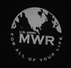 US MWR Army Zombie Fun Run in Kuwait Tee 2