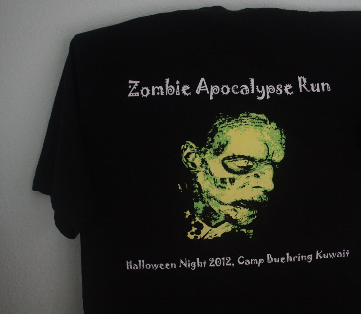 US MWR Army Zombie Fun Run in Kuwait Tee