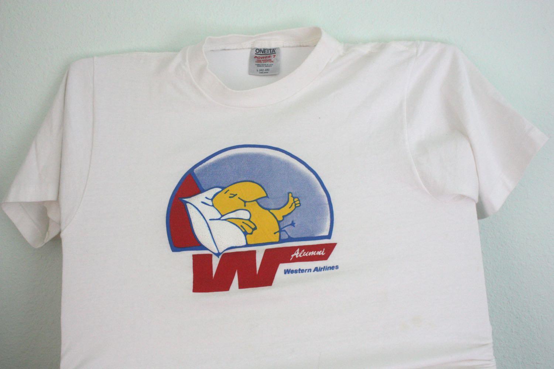 Western Airlines Alumni Tee